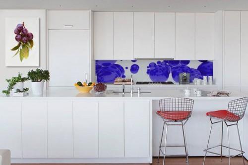 Décoration murale cuisine Mirabelles