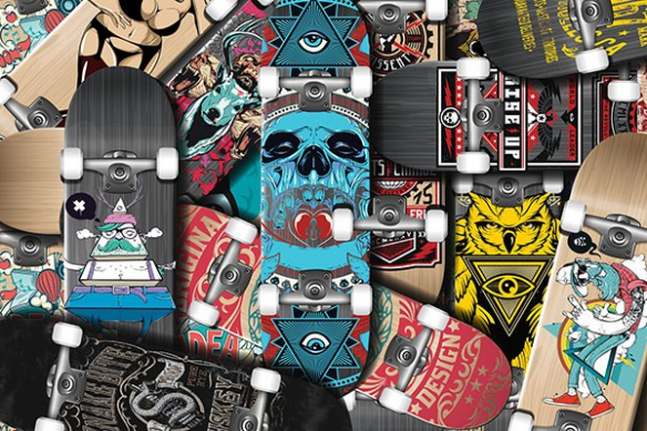 planches Skates decomur chambre ado