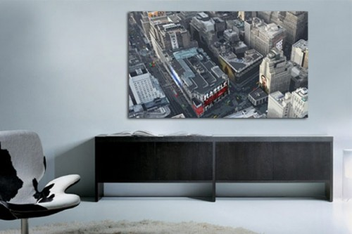 tableau new york by damien seppoloni izoa. Black Bedroom Furniture Sets. Home Design Ideas