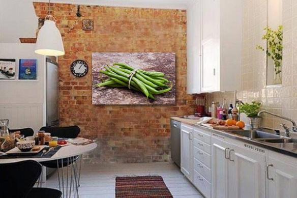tableau pour cuisine fagot haricots