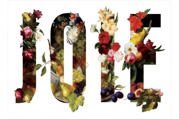 Tableau déco Fleurs Joie