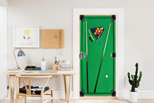 Trompe l'oeil Table Billard