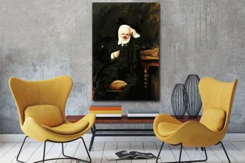 Tableau moderne Victor Hugo