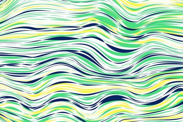 Tableau design horizontal Line bleu
