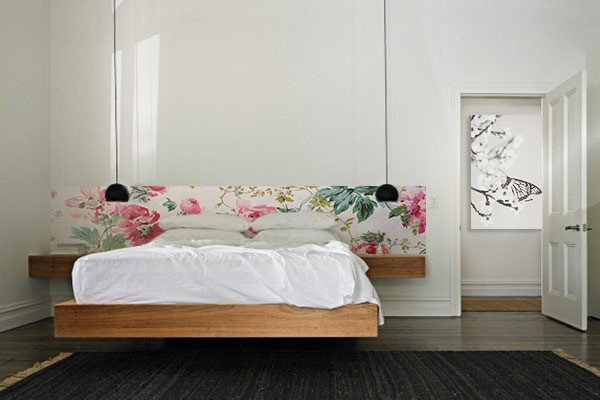 frise murale floralit izoa. Black Bedroom Furniture Sets. Home Design Ideas