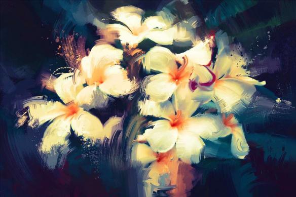 Toile déco Evasion Florale