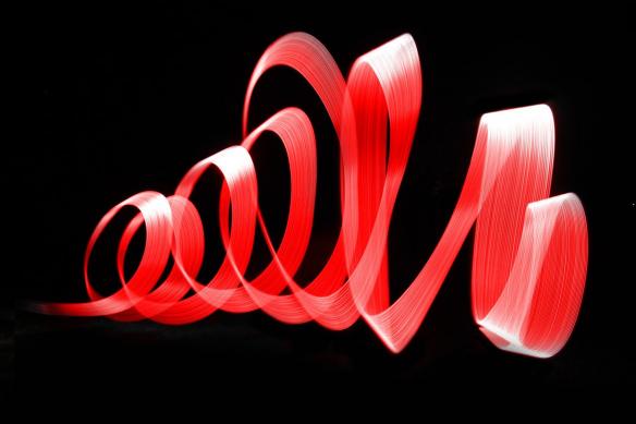 Toile murale Nemesis rouge