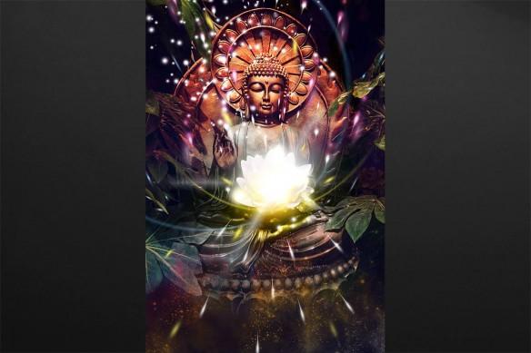 Tableaux muraux zen Illumination