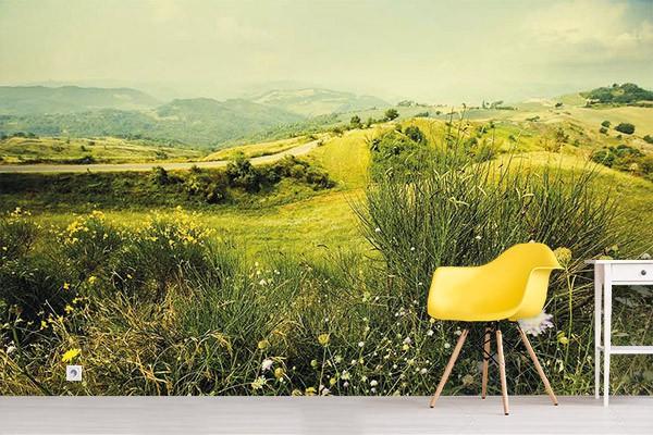 poster g ant paysage rural izoa. Black Bedroom Furniture Sets. Home Design Ideas