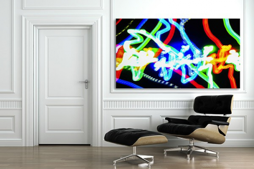 Tableau moderne Led virtuel