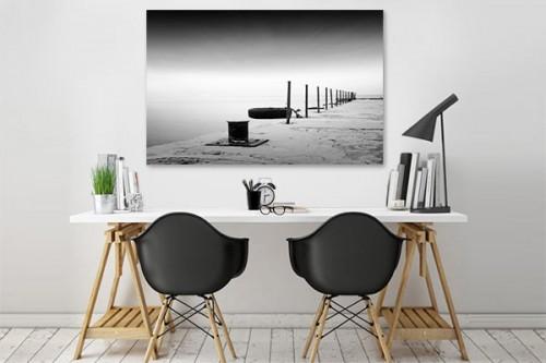 tableau noir et blanc escaut