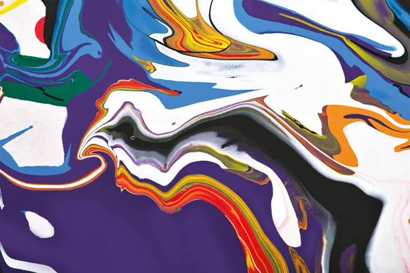 sinam toile decorative abstraite