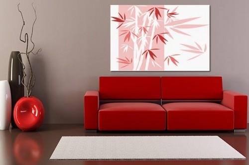 tableau bleu d coration murale pour salon izoa. Black Bedroom Furniture Sets. Home Design Ideas