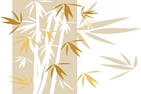 Toile imprimée Bambou