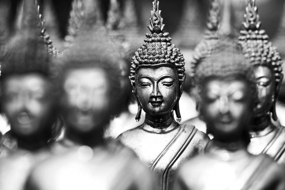 Tableau bouddha Sesshin