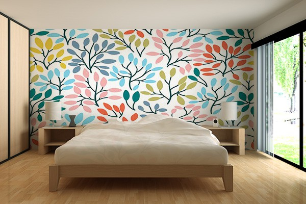 papier peint scandinave ofr sia izoa. Black Bedroom Furniture Sets. Home Design Ideas