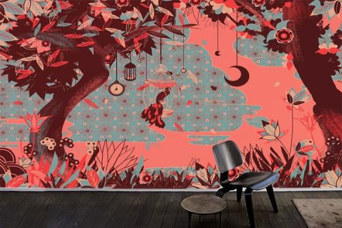 Papier peint mural Moment enchanté
