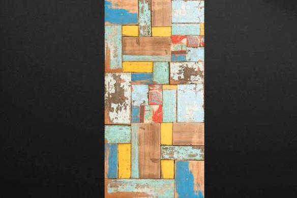 papier peint imitation Bois coloré