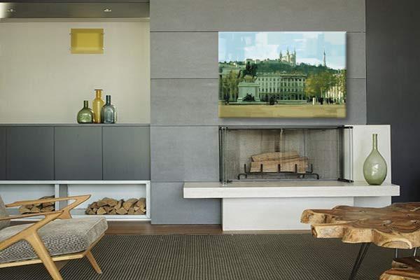 cadre d co lyon izoa. Black Bedroom Furniture Sets. Home Design Ideas