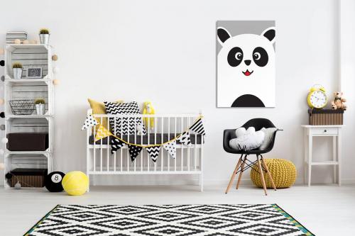 Toile déco enfant Petit Panda