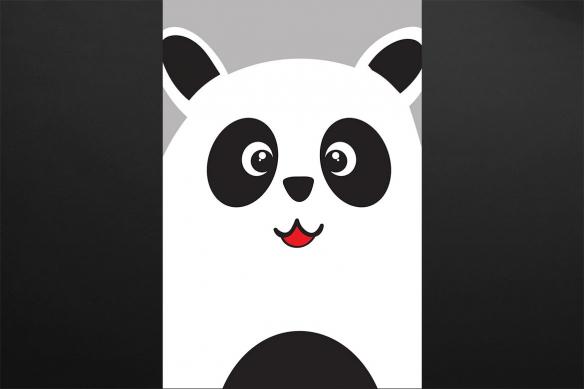 Petit Panda deco chambre enfant