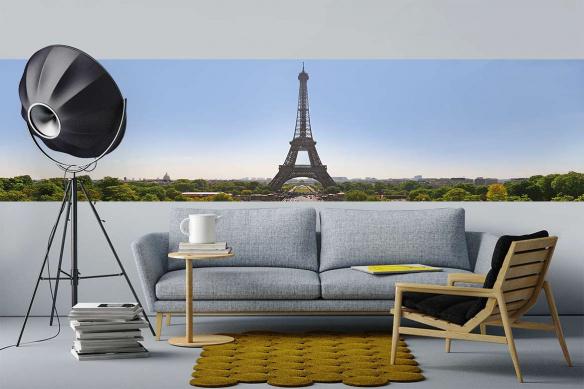 Papier peint panoramique Beauté Parisienne