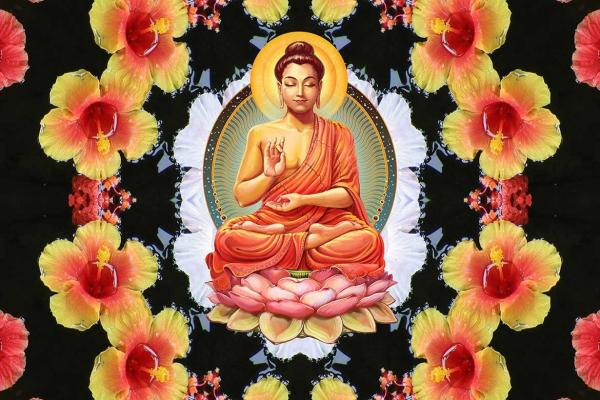 Cadre Bouddha Décoration Intérieur Zen Et Nature