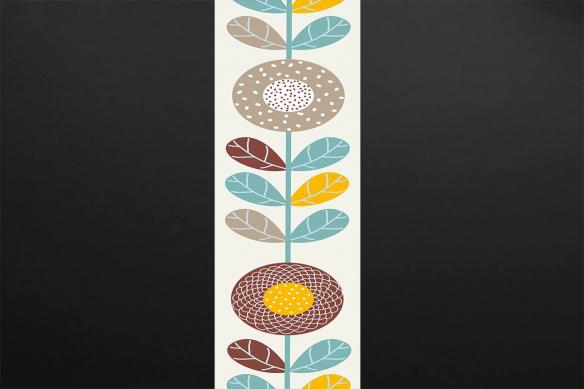 Frise Papier peint scandinave Hiwie