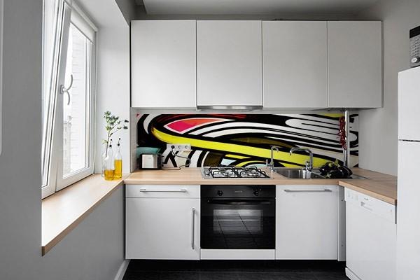 Crédence cuisine moderne Oeil Graff