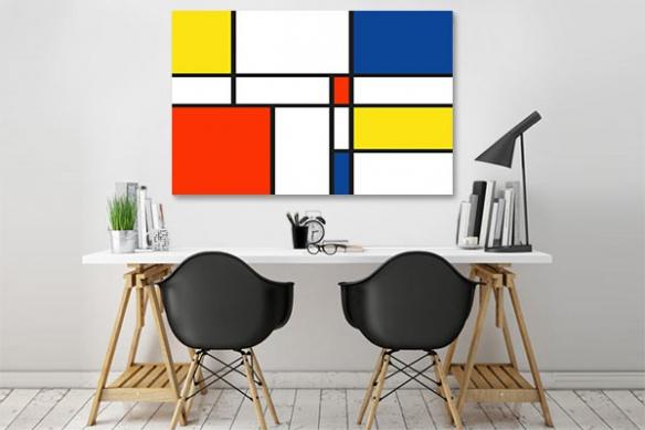 Tableau abstrait design Transcendance