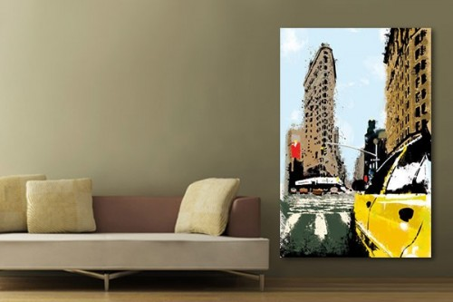 tableau salon izoa. Black Bedroom Furniture Sets. Home Design Ideas