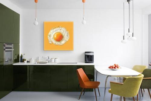 Tableau décoration cuisine Œuf au plat