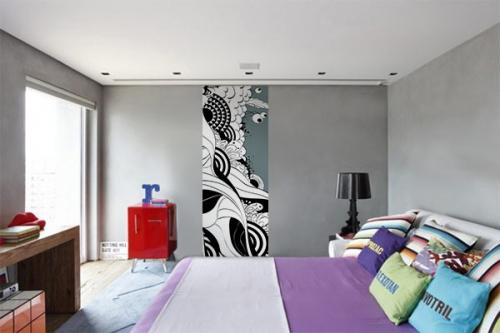 Papier peint chambre Amalia