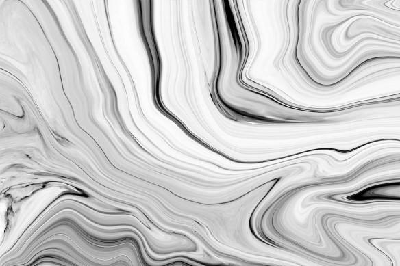 Toile abstraite noir et blanc Titus