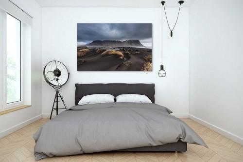 Tableau design paysage lunaire