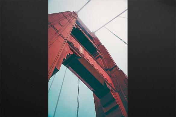 cadre déco Bay Bridge SF