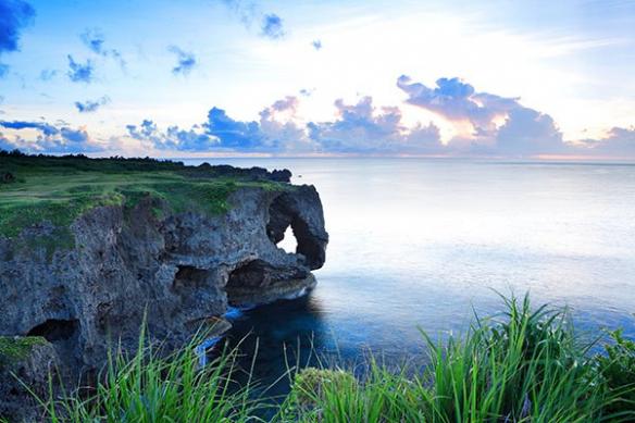 déco murale géante paysage marin manzamo