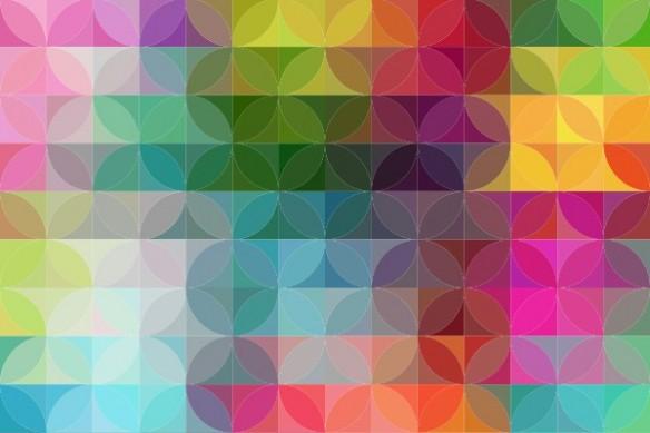 Toile abstraite colorée Saperlipopette