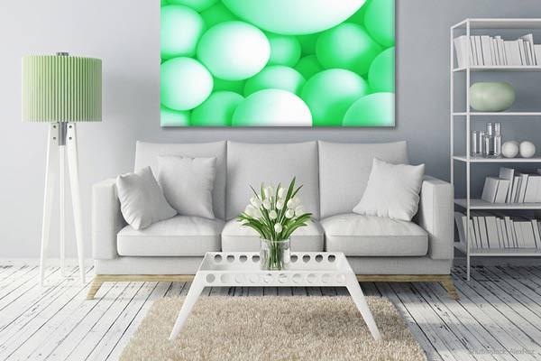 tableau rond et color sweety moderne. Black Bedroom Furniture Sets. Home Design Ideas