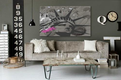 Tableau contemporain York by Sébastien Grand