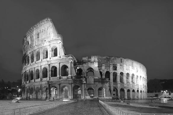 Toile décorative Colisée de Rome