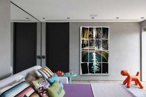 Tableau Moderne Venise by Mathieu Gazaix