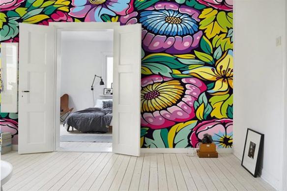Papier peint textile Vitka