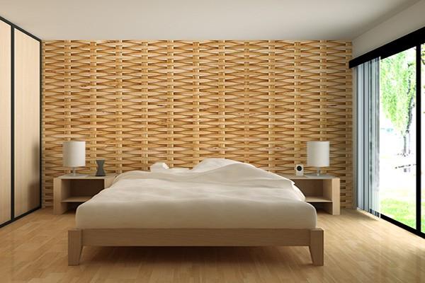 trompe l il texture papier peint brise vue izoa. Black Bedroom Furniture Sets. Home Design Ideas