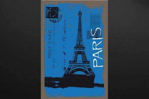 toile déco Paris