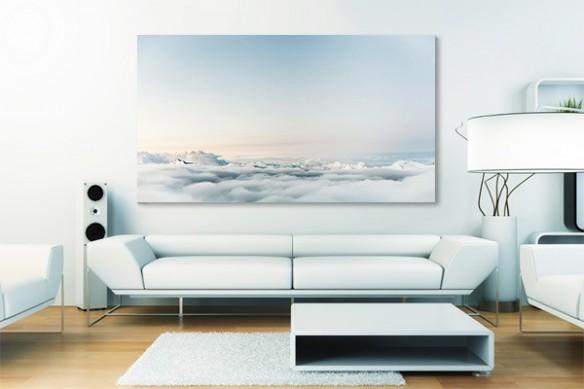 Tableau moderne Au dessus des nuages
