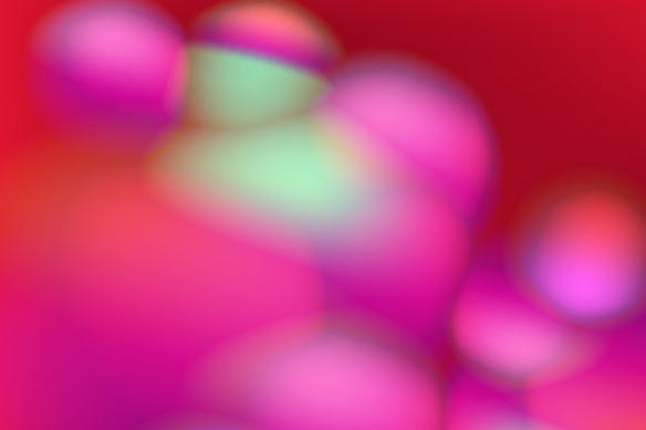 Tableau rouge abstrait coloré Pipo