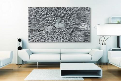 tableau d co d coration murale zen pour chambre 2 izoa. Black Bedroom Furniture Sets. Home Design Ideas