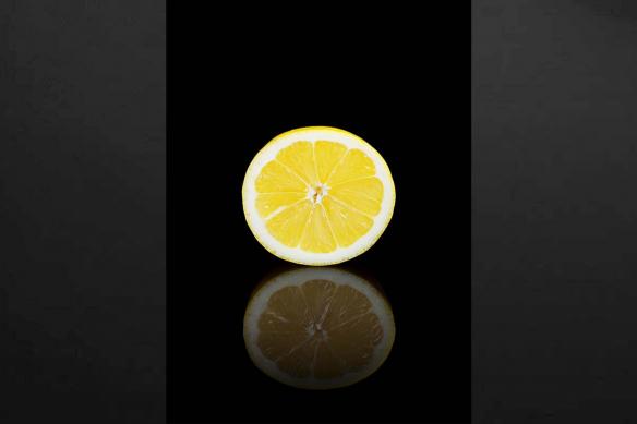 Tableau cuisine Citron design