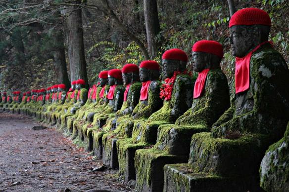 Toile déco Statues Japonaises